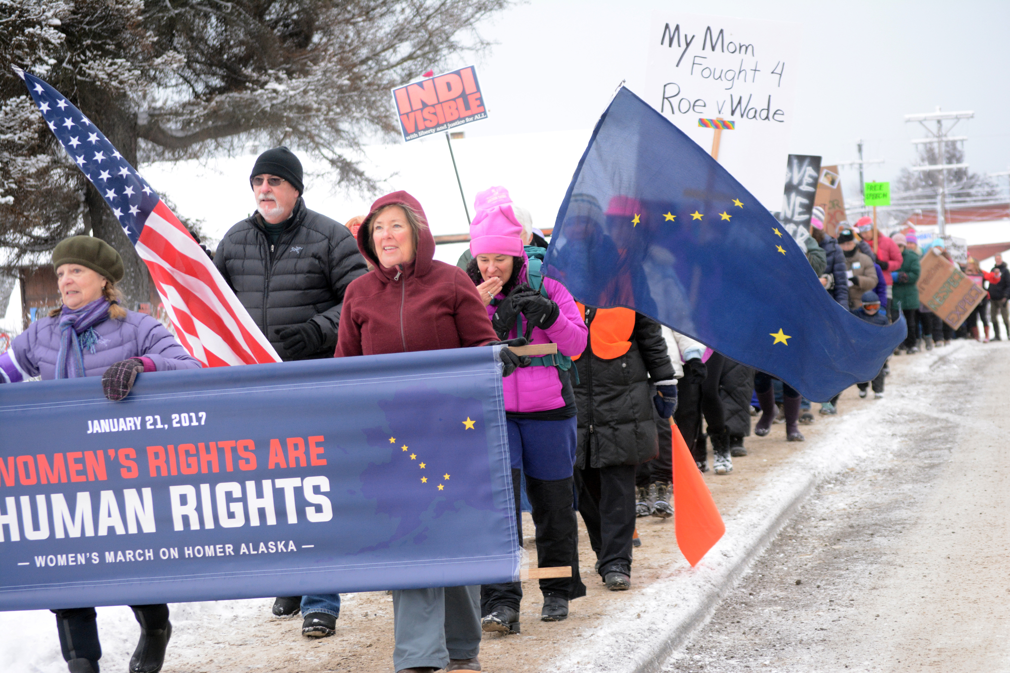 Marchers seek justice - and more