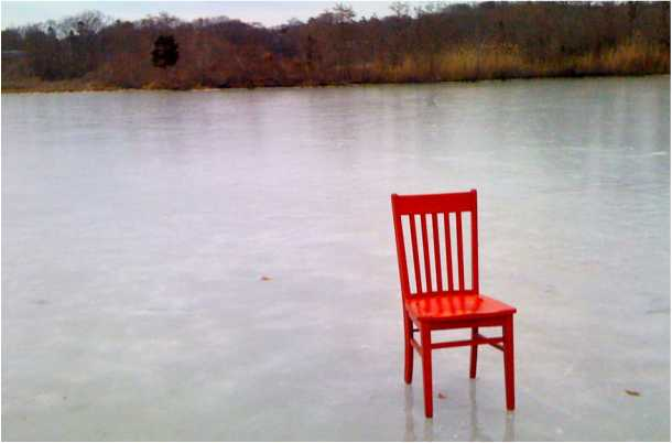 Red Chair reaches the end of the road