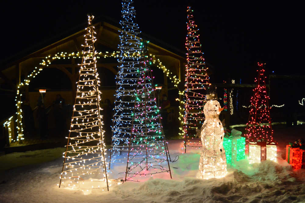 It's a magical winter wonderland at Bear Creek Winery's Garden of Lights on Friday night. The holiday event was held last weekend and also is held 5-7 p.m. Dec. 16 and 17. It includes music, a fire pit and hot chocolate.
