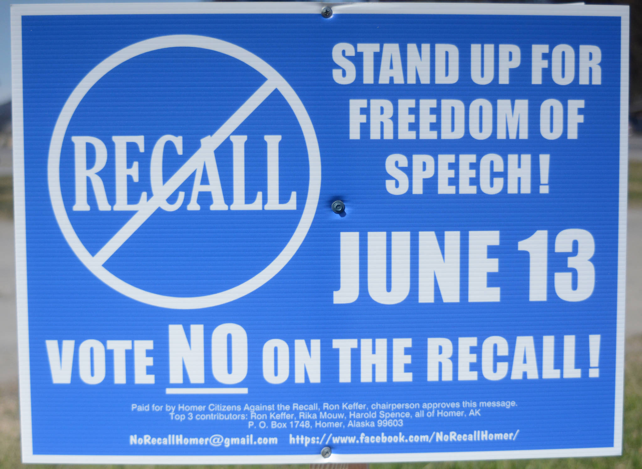 Recall election targets three council members