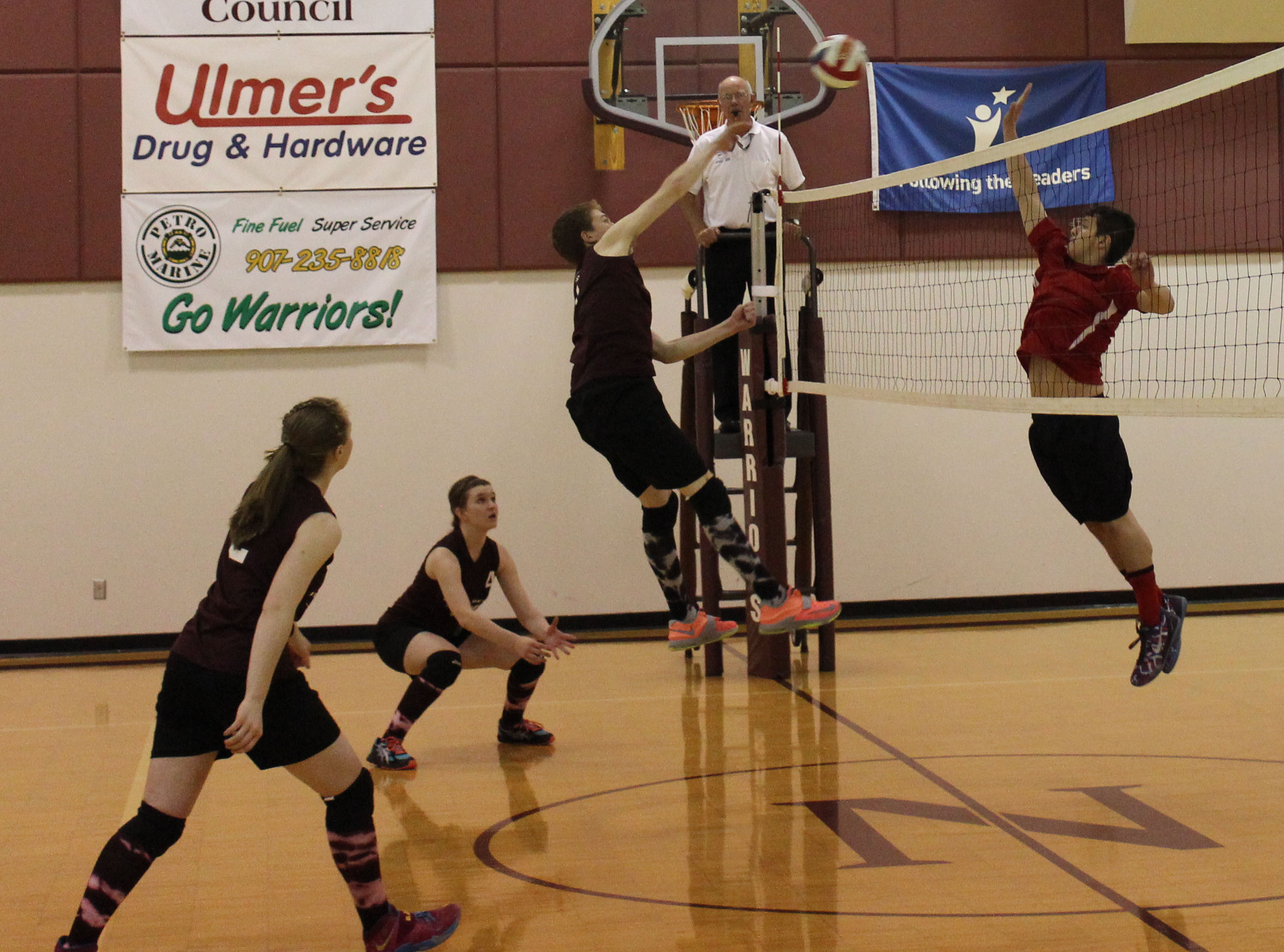 Mixing it up in volleyball