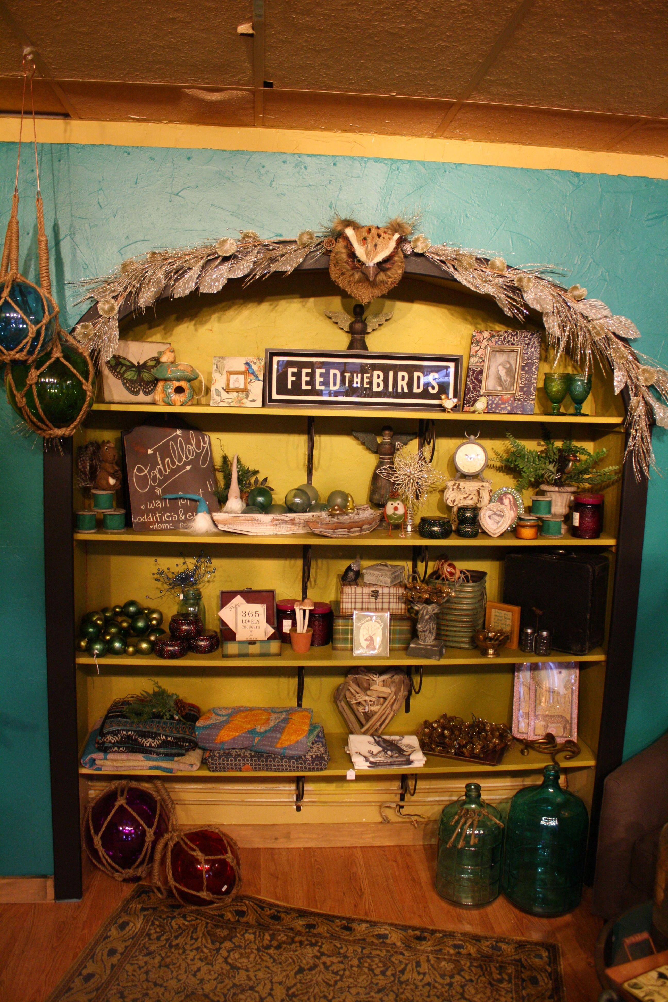 Some of the unique items for sale at Oodalolly are showcased.-Photo by Lindsay Olsen