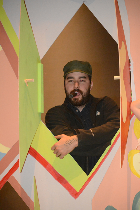"""Michael Hurd as Fidel Castro in """"The '60s Show.""""-Photo by Michael Armstrong, Homer News"""
