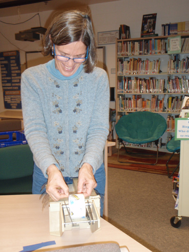 Lisa Whip, WHES librarian-Photo provided