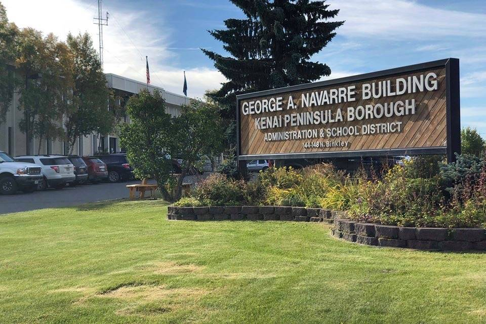 The Kenai Peninsula Borough building, Wednesday, Sept. 12, 2018, in Soldotna, Alaska. (Photo by Victoria Petersen/Peninsula Clarion)