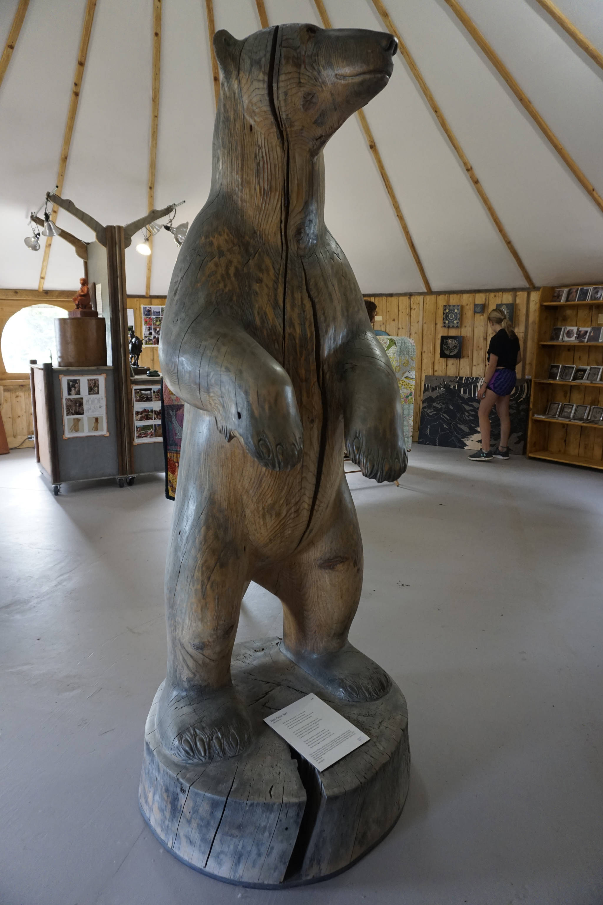The Dean family's Creative Fire studios on Waterman Road includes their gallery, as seen here on a garden tour in July 2018 near Homer, Alaska. (Photo by Michael Armstrong/Homer News)