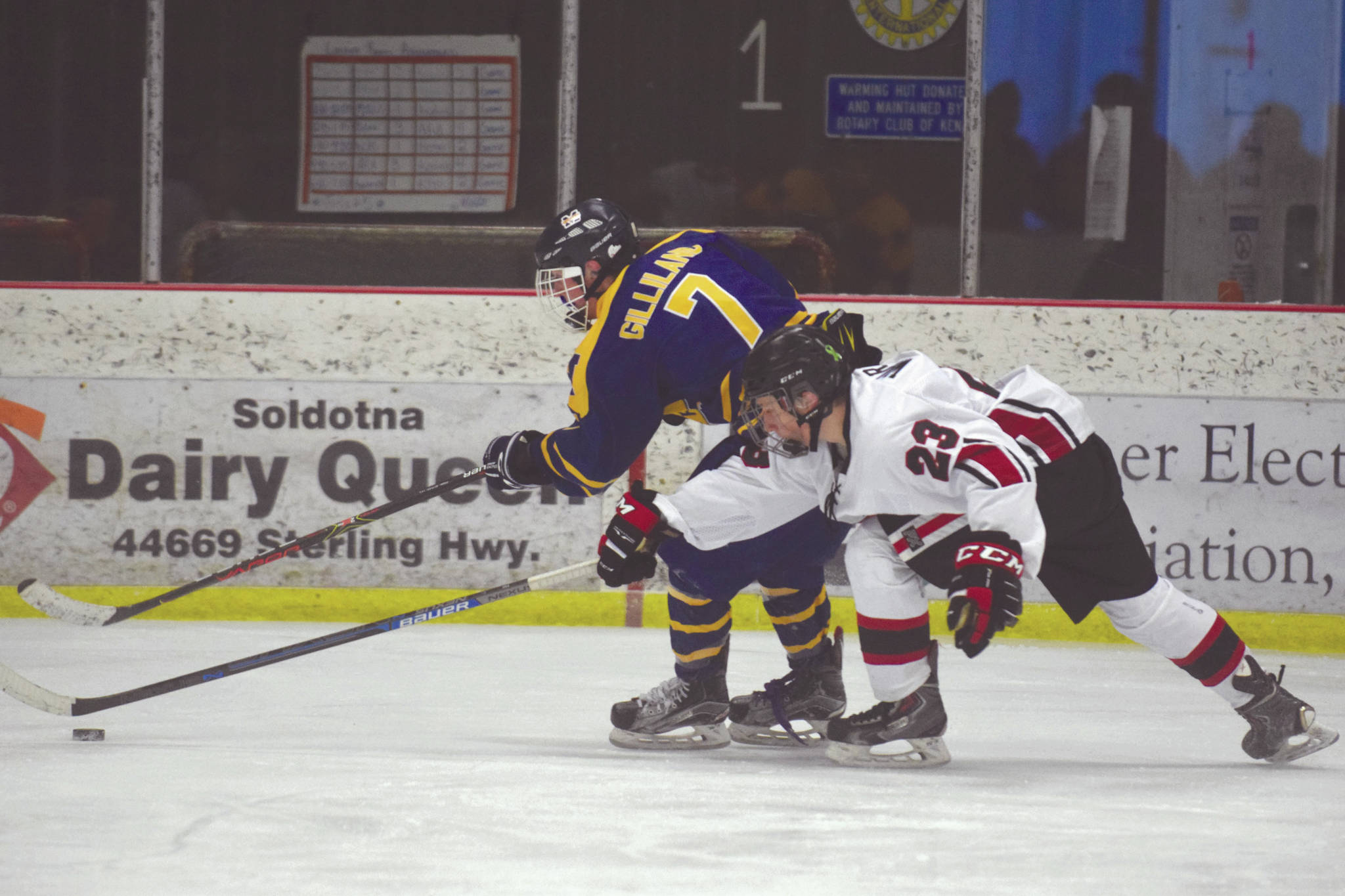 Homer hockey tops Kenai