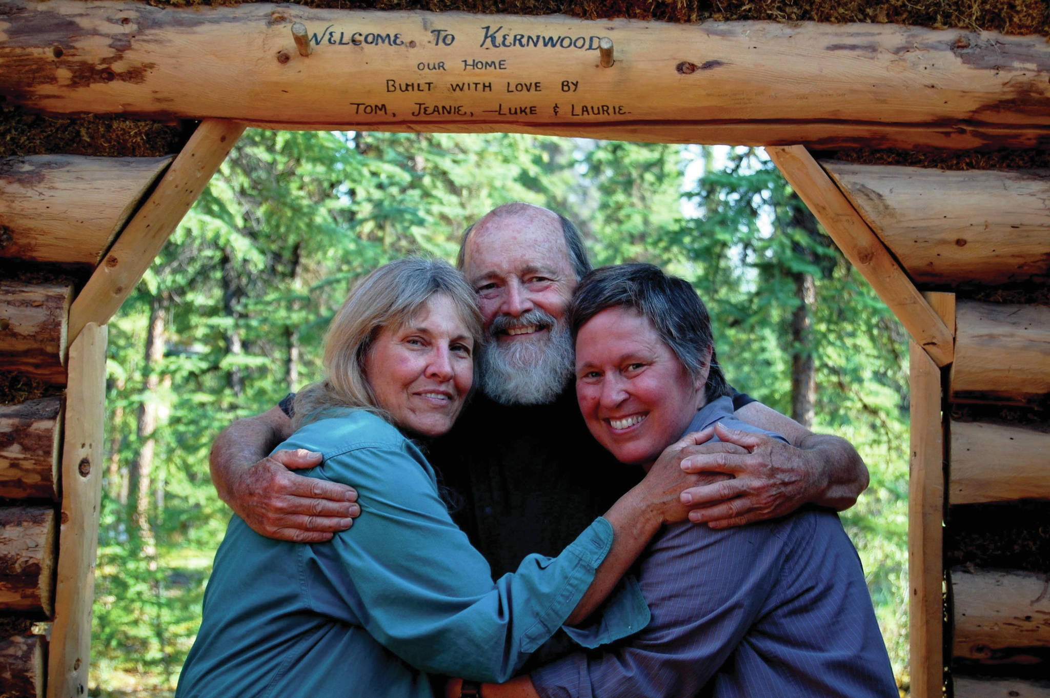 """Jean Aspen, Tom Irons and Laurie Schacht in a still photo from the movie """"ReWilding Kernwood,"""" filmed from 2016 to 2018 on the Chandalar River in the Brooks Range, Alaska. (Photo courtesy of Jean Aspen)"""