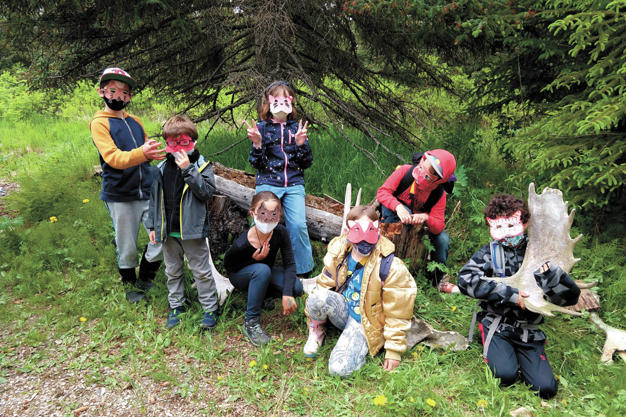 Kids enjoy a day camp at the Wynn Nature Center near Homer, Alaska in this undated photo. (Photo courtesy Beth Trowbridge)