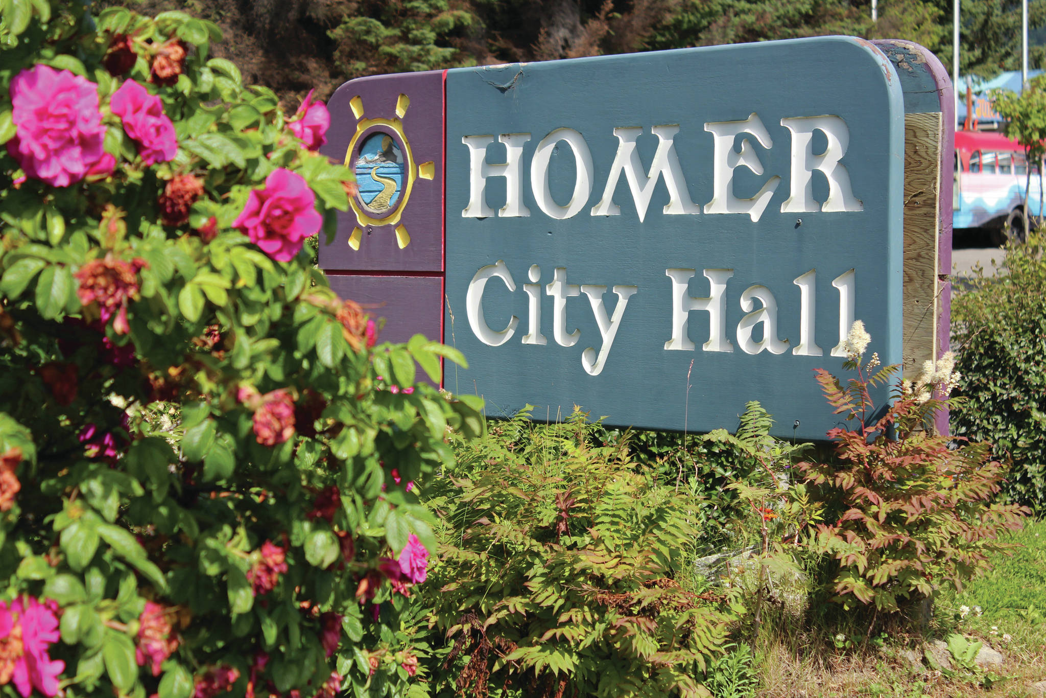 Homer City Hall. (Homer News file photo)