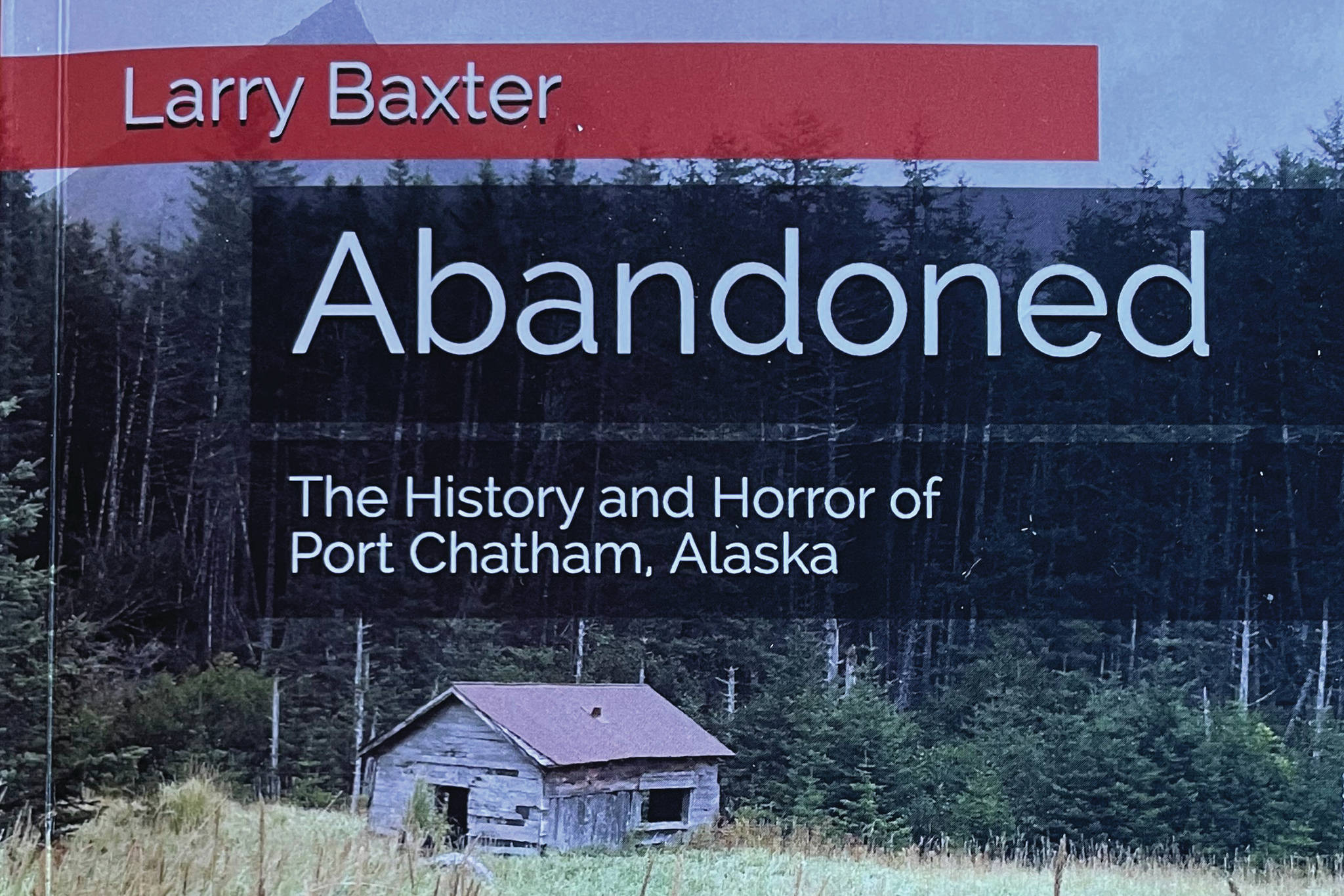 "The cover of Larry Baxter's novel, ""Abandoned."" (Photo by McKibben Jackinsky)"