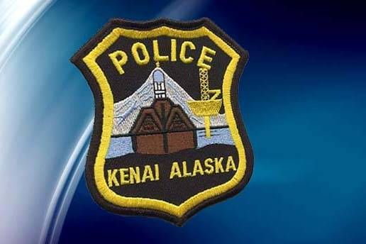 The badge for the Kenai Police Department